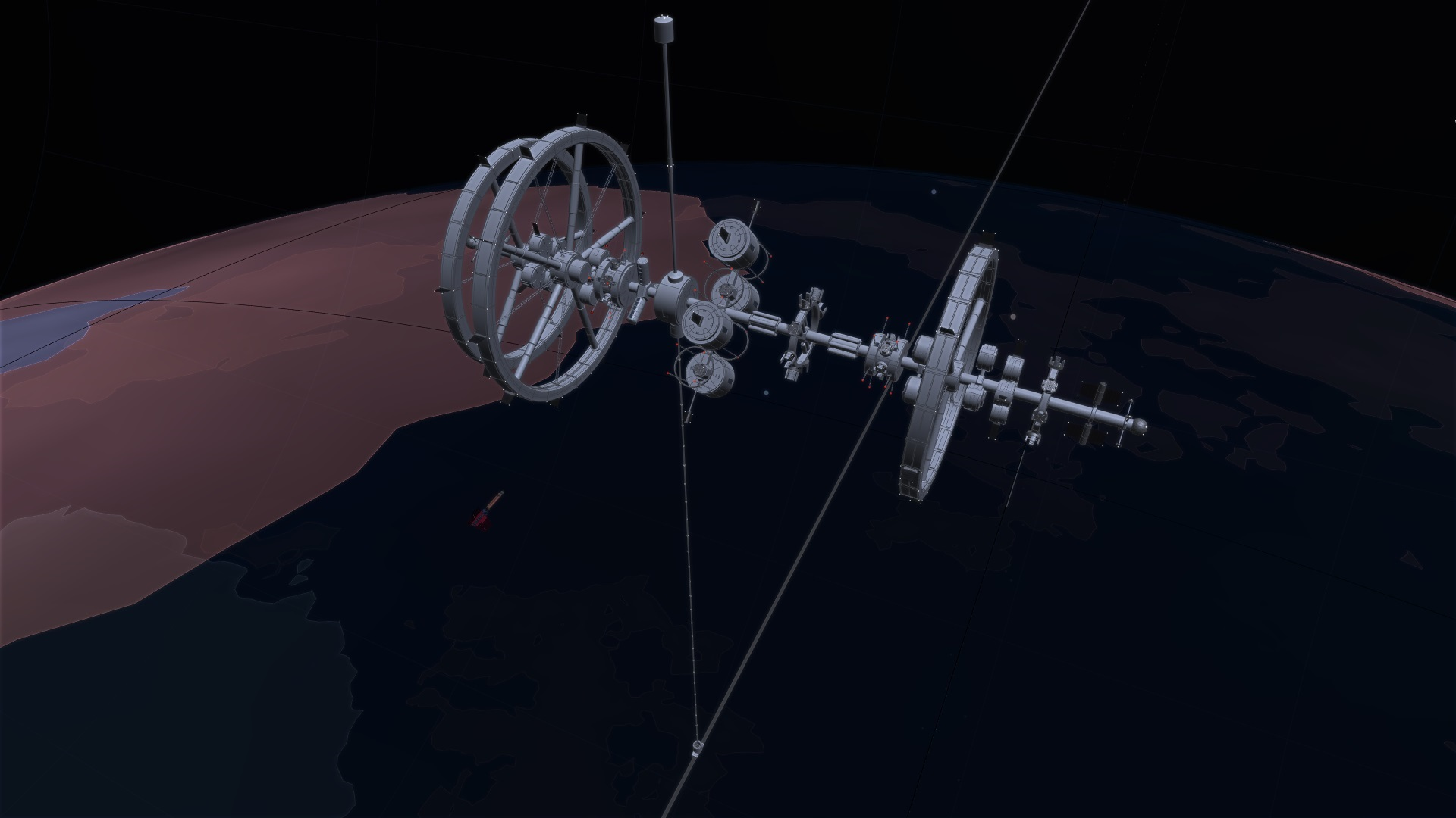 Orbital Ring Station