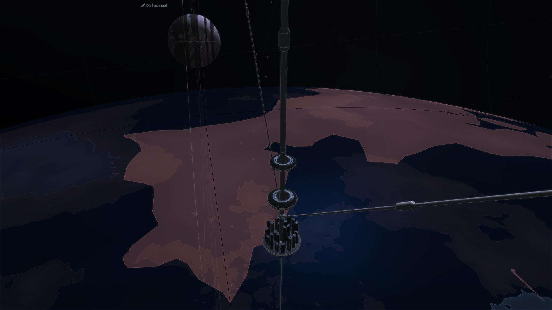 Orbital Ring Skyhook - City