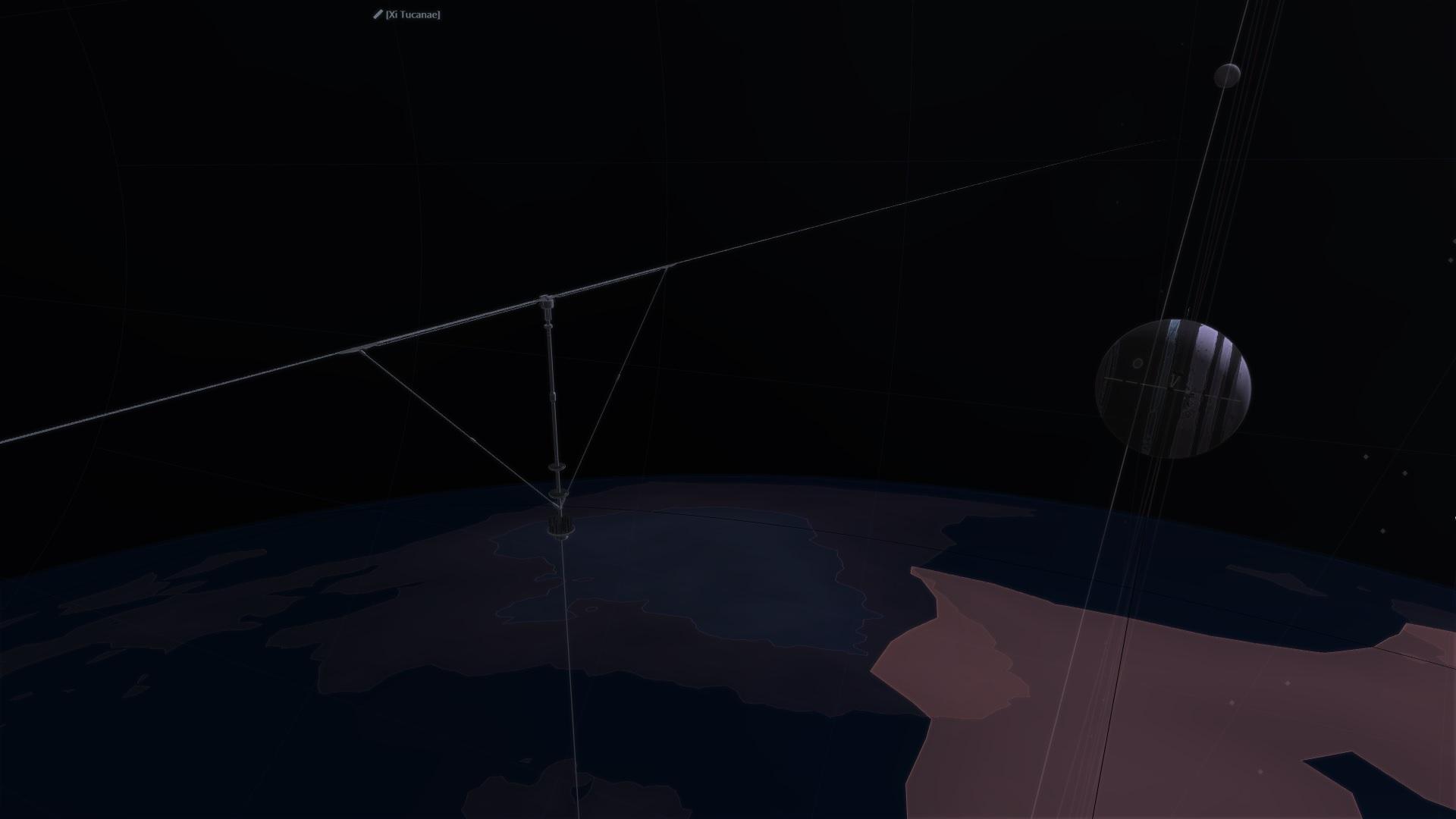 Orbital Ring Skyhook
